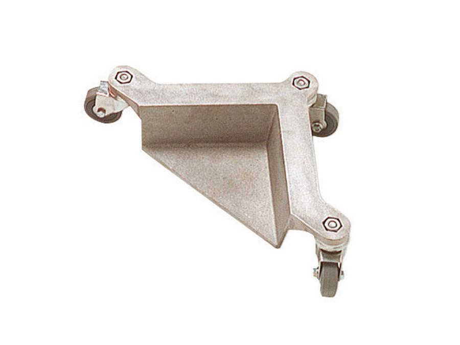 Imagine Set 4 Coltare Din Aluminiu Cu 3 Roti Pivotante Pentru Transport Mobila