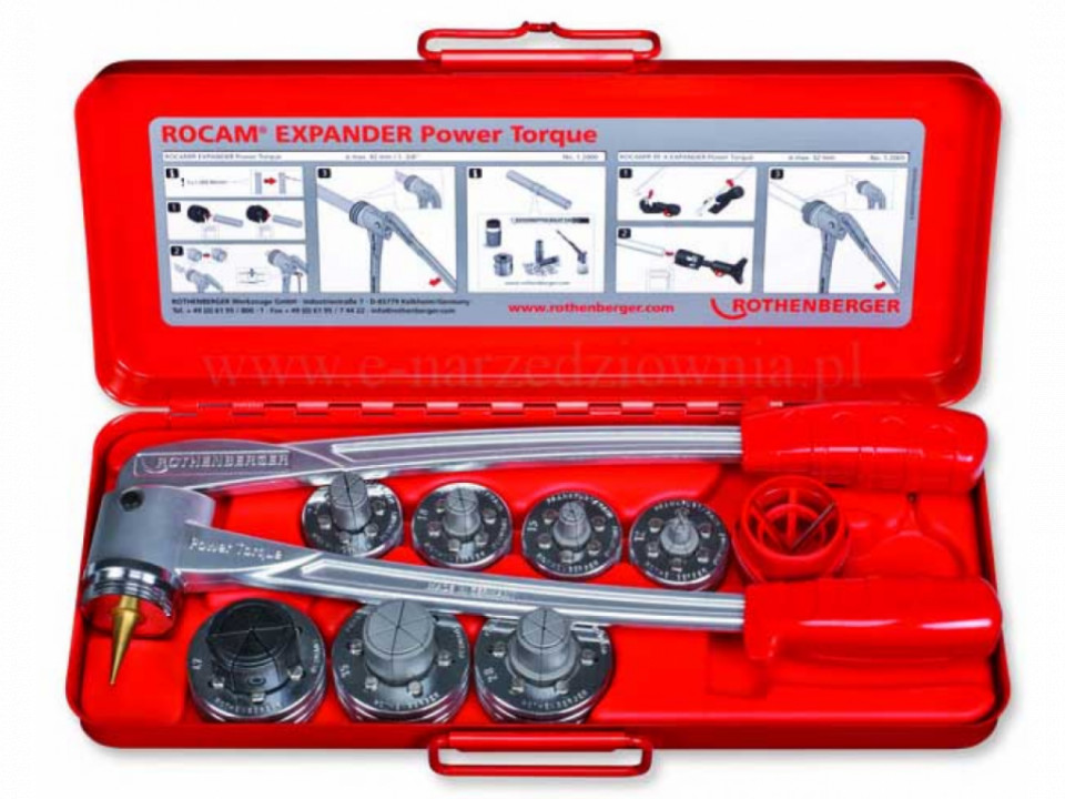 Set manual confectionare mufe ROLOCK Expandor Rothenberger