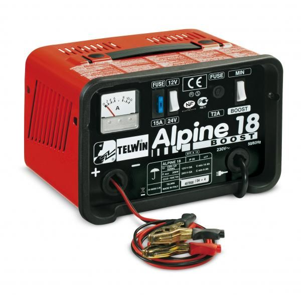 Alpine 18 Boost – Redresor auto Telwin