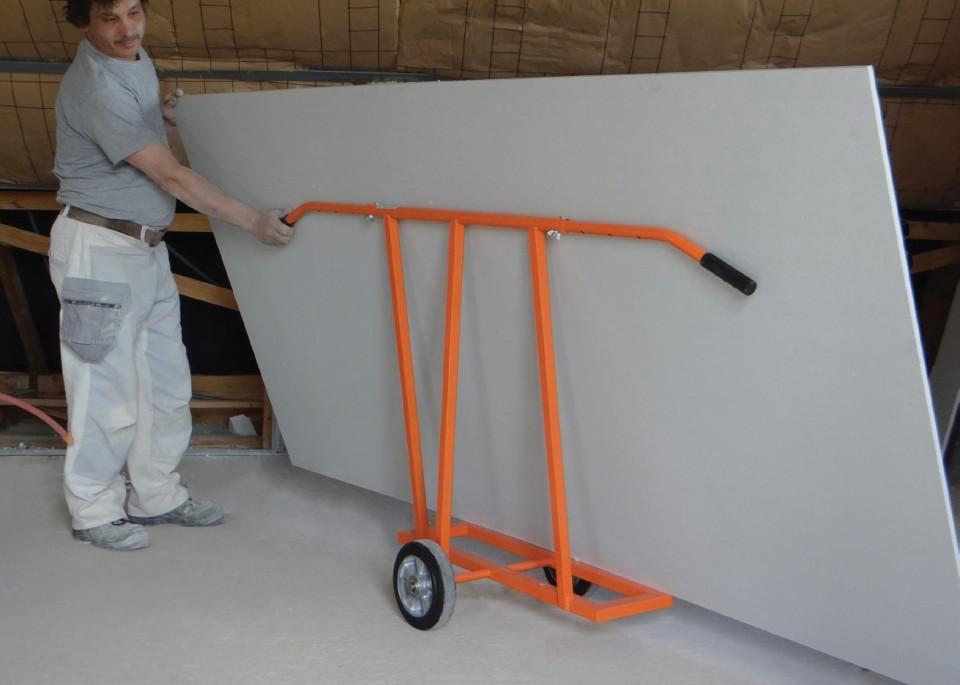 Imagine  Carucior Transport Placi Cu 2 Roti 900 Kg