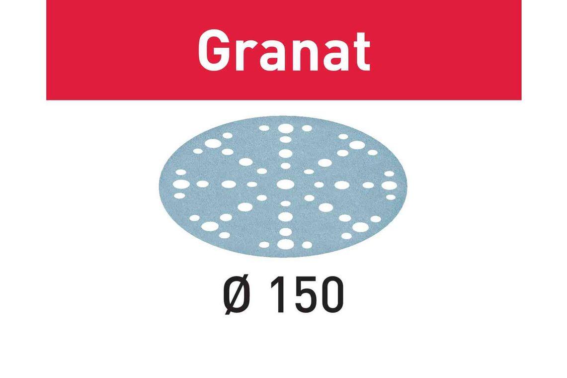 Festool Foaie abraziva STF D150/48 P180 GR/100 Granat imagine 2021
