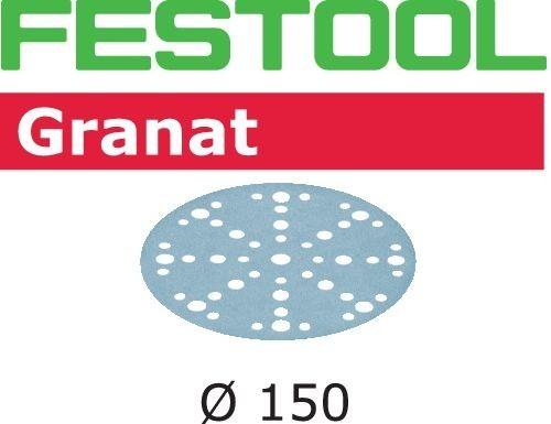 Festool Foaie abraziva STF D150/48 P40 GR/10 Granat imagine 2021