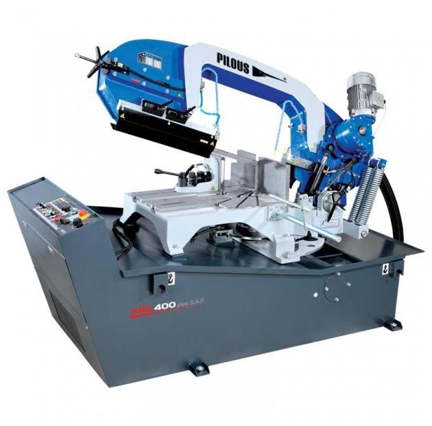Fierastrau semiautomat cu banda pentru metale 400 mm ARG 400 plus S.A.F. imagine 2021
