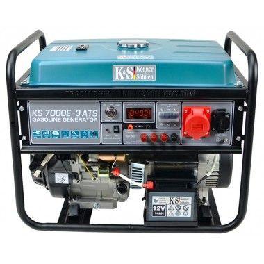 Generator de curent 5.5 kW, KS 7000E-3 ATS - Konner and Sohnen imagine 2021