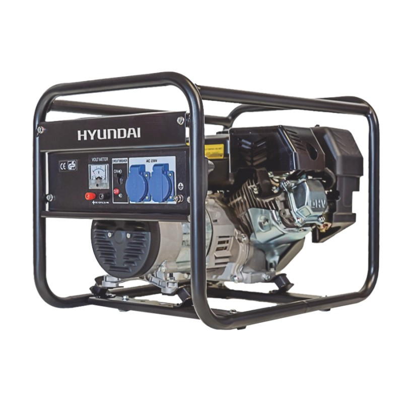 Generator de curent monofazat 3.5 kVA HYUNDAI HY3100 imagine 2021