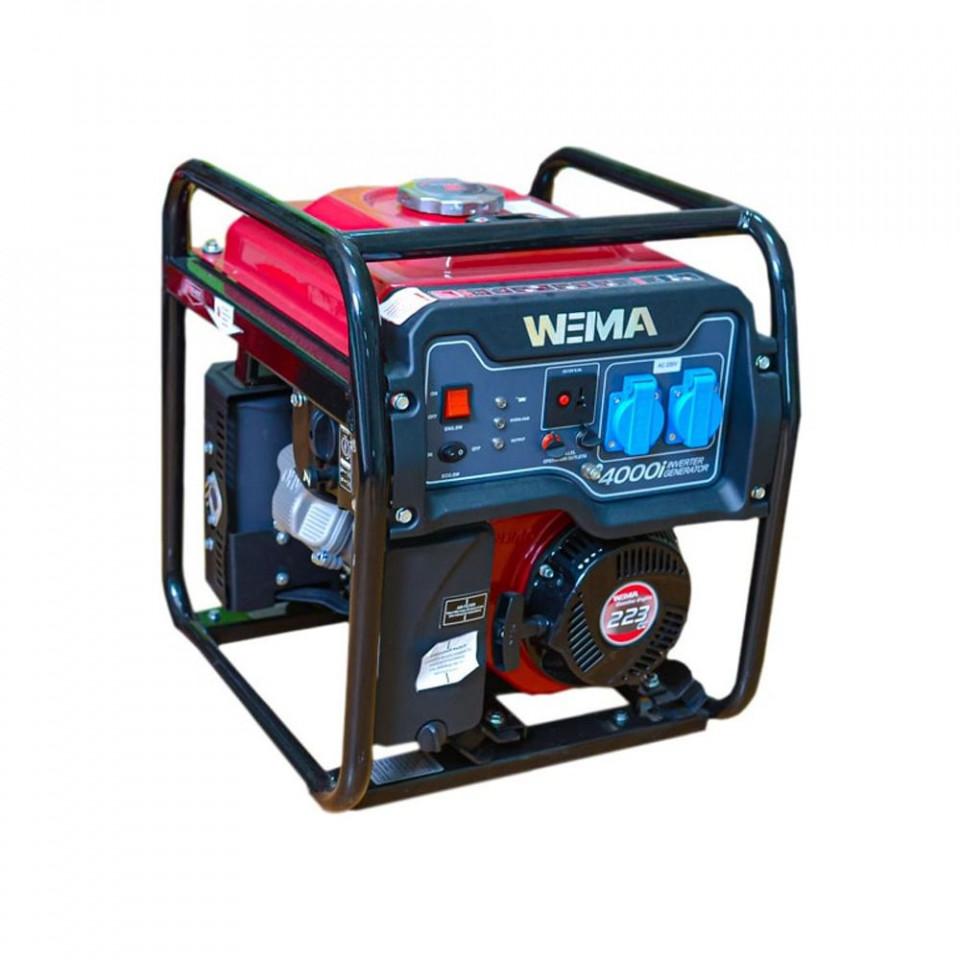 Generator de curent Weima WM 4000I, 3.5 KW, 16 A, motor 4 timpi, benzina imagine 2021