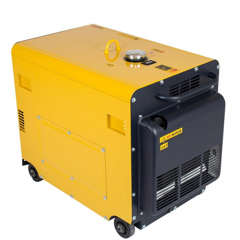 Generator insonorizat Kipor KDE 6700 TA