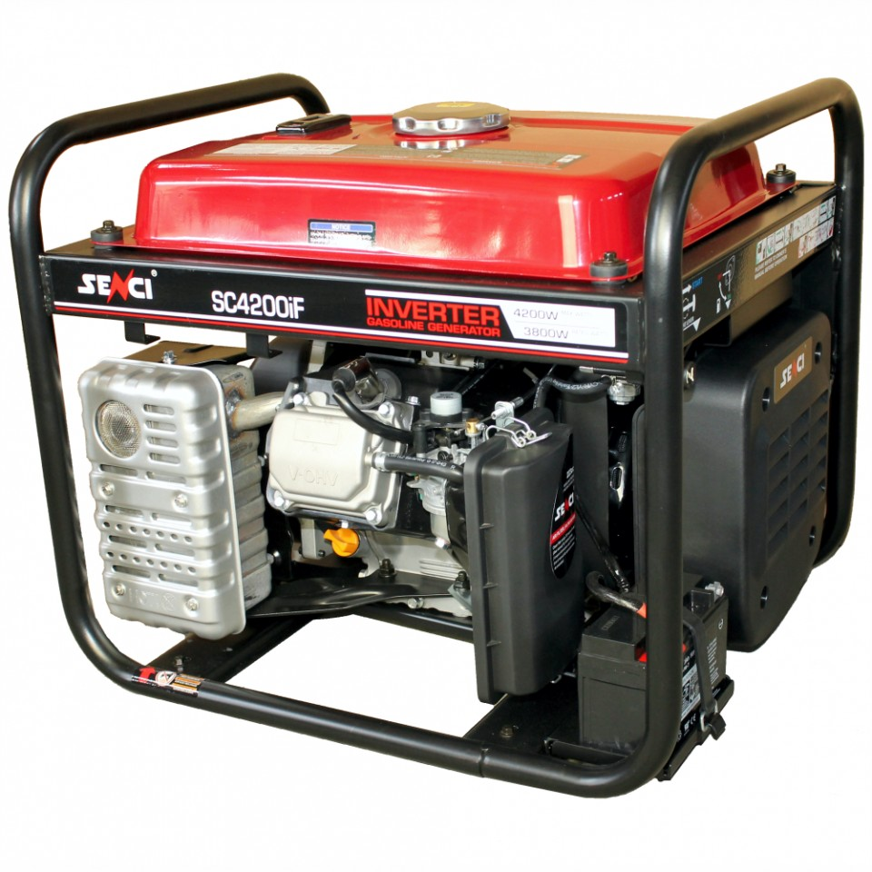 Generator monofazat 4.2 kW inverter Senci SC-4200iF