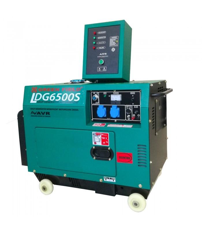 Grup electrogen monofazat, automatizat LDG6500S + panou de automatizare poza