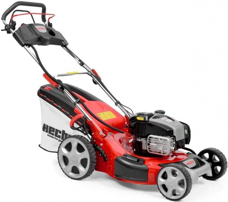 HECHT 548 INSTART Mașina de tuns iarba, motor benzina, 4.6 CP, latime de lucru 46 cm