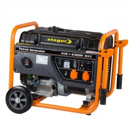 Poze GENERATOR OPEN FRAME BENZINA STAGER GG 6300W