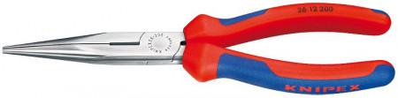 Knipex Clește plat-rotund cu tăiș
