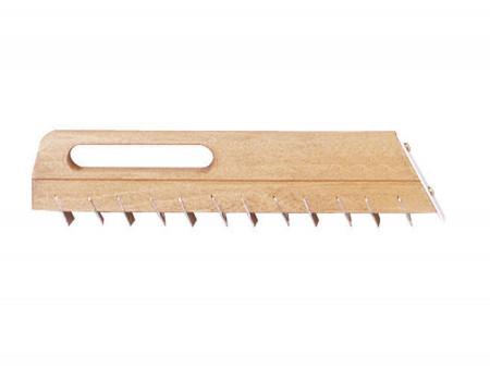 Drișcă lamelară dințată pentru piatră moale 30×4