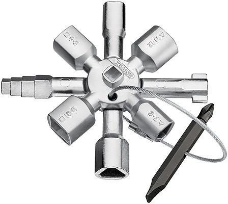 KNIPEX TwinKey® pentru tablouri electrice title=KNIPEX TwinKey® pentru tablouri electrice