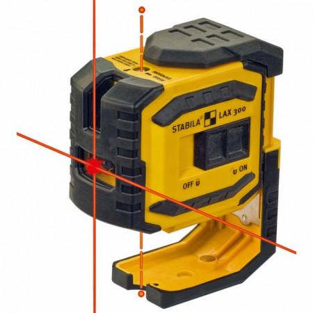 Nivela laser Stabila LAX 300 - 2 linii incrucisate si 2 puncte fir cu plumb