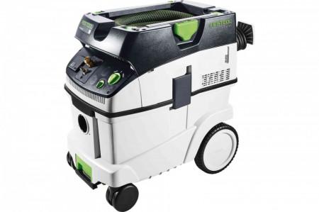 Aspirator mobil Festool CLEANTEC CTL 36 E LE cu adaptor aer comprimat