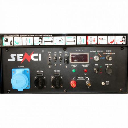 Generator de curent monofazat SC15000-ATS Putere max. 13 kW AVR panou de automatizare