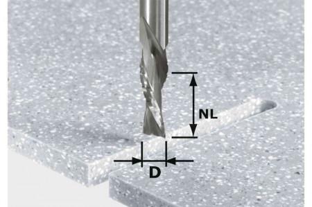 Festool Bit de freză pentru şlefuire brută şi finisare HW Spi D12/42 LD ss S12
