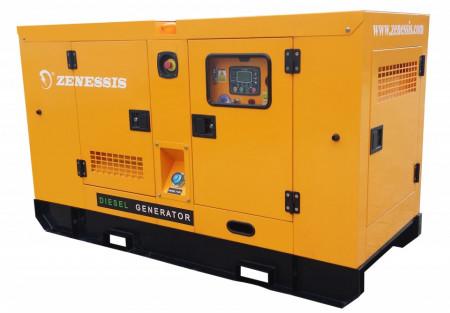 Generator curent diesel residential insonorizat DEWERK ESE 35 DWR 35 kVA