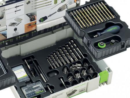 Pachet de instalare Festool SYS 1 CE-SORT 98 PIESE