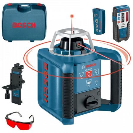 Set Nivela laser rotativa Bosch GRL 300 HV