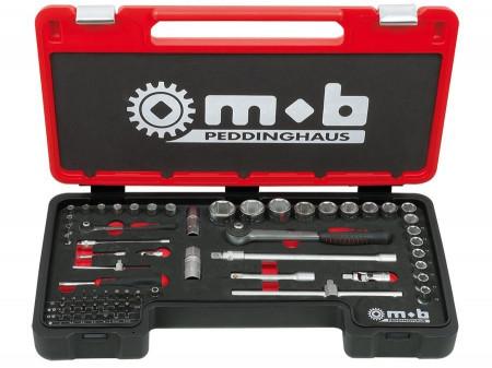 """Mob & Ius Trusa 70 piese Fusion Box cargo COMBI 70 1/4""""-1/2"""""""
