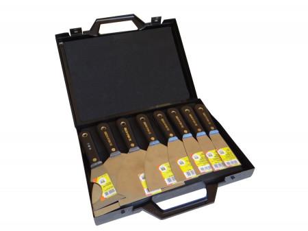 Set 8 spacluri INOX in geanta PVC