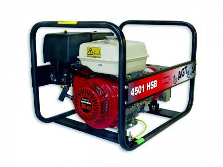 Generator de curent monofazat 4 kVA AGT 4501 HSB
