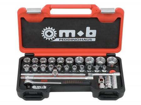 "Mob & Ius Trusa Fusion Box Mediu TCCT28P×1/2"" capete și accesorii"