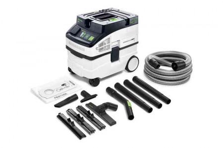 Aspirator mobil Festool CLEANTEC CT 15 E-Set