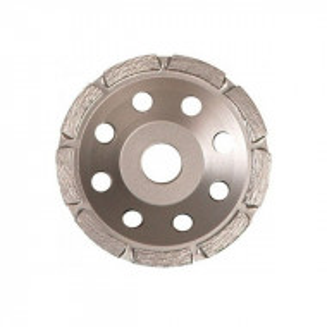 Disc diamantat Sonnenflex 81085_8, tip oala cu 2 straturi, pentru beton, granit, uz general, D 125X5X22.23 mm