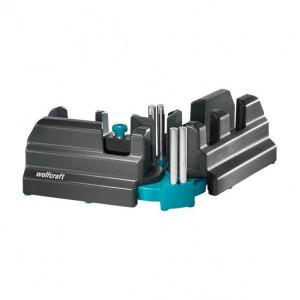 Echer reglabil si dispozitiv de ghidare Wolfcraft 6948000, inaltime maxima plinte 70 mm