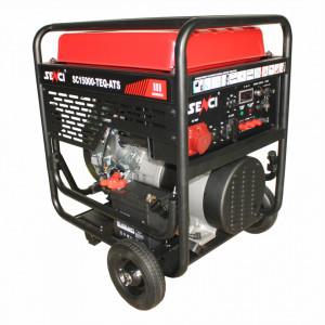 Generator Curent monofazat Senci SC18000E Putere max. 17 kW