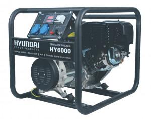 Generator de curent monofazat 5 kVA HYUNDAI HY6000