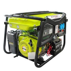 Generator de curent pe benzina Breckner BS6500, monofazat (2 x 220V)