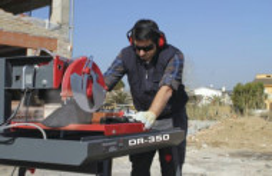 Masina de taiat materiale de constructii Rubi DR-350 ZERO DUST