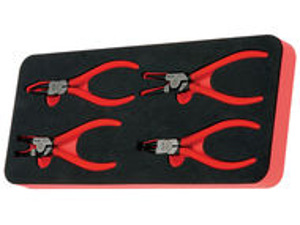Modul OSC cu 4 clesti inele siguranta manson PVC 4 scule
