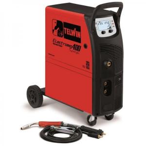 ELECTROMIG 400 SYNERGIC - APARAT DE SUDURA TELWIN tip MIG-MAG/TIG/MMA