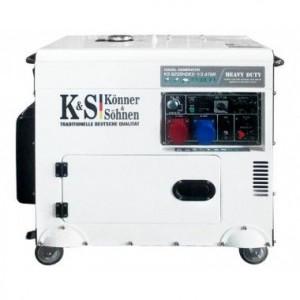 Generator de curent diesel 7.5 kW, KS 9200HDES-1/3 ATSR - Konner and Sohnen