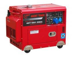 GENERATOR DIESEL MONOFAZAT 5,0 kVA AGT 6851 DSEA