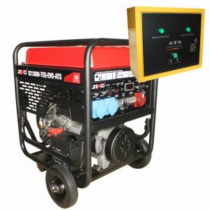 Generator trifazat SC13000TEQ-EVO-ATS Putere max. 11 kW, 400V AVR si automatizare