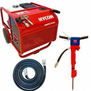 Pachet hidraulic Hycon HPP13 FLEX + ciocan hidraulic HH23 + furtun 10 m