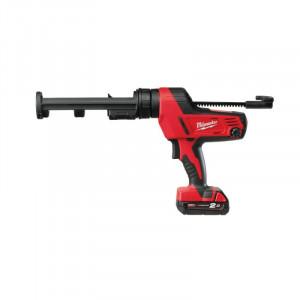Pistol aplicare Milwaukee silicon cu acumulator MODEL C18 PCG-310-201B, 310ML