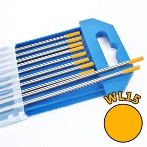 Electrozi wolfram WL15 (auriu) d=1.6 mm