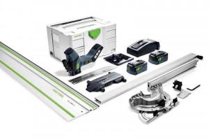 Festool Ferăstrău cu acumulator pentru materiale izolatoare ISC 240 Li 5,2 EBI-Set-FS