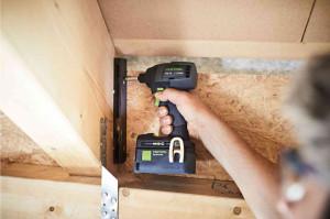 Festool Set maşină de înşurubat  TID 18 C 3,1-Set T18