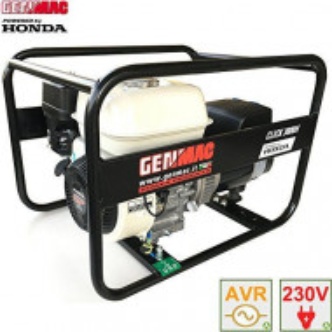 Generator de curent portabil monofazat GENMAC seria Click RG3000HO Putere kVA 2,9