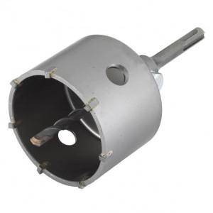 Carota cu burghiu centrare SDS Plus Wolfcraft 5481000, D 83 mm, lungime activa 46 mm