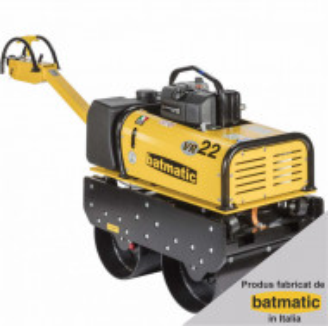 Cilindru Vibrocompactor Batmatic VR22E, 22 kN, greutate utilaj 720 kg, motor diesel, 10.9 cp