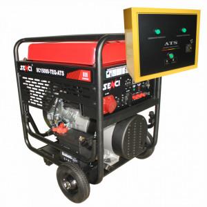 Generator de curent trifazat Senci SC18000TE-ATS Putere max. 17 kW 400V AVR motor benzina